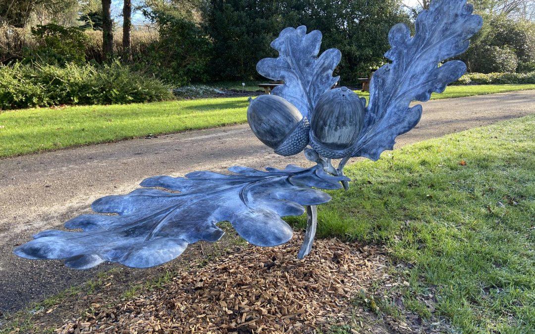 Oak Leaf Bench/Sculpture