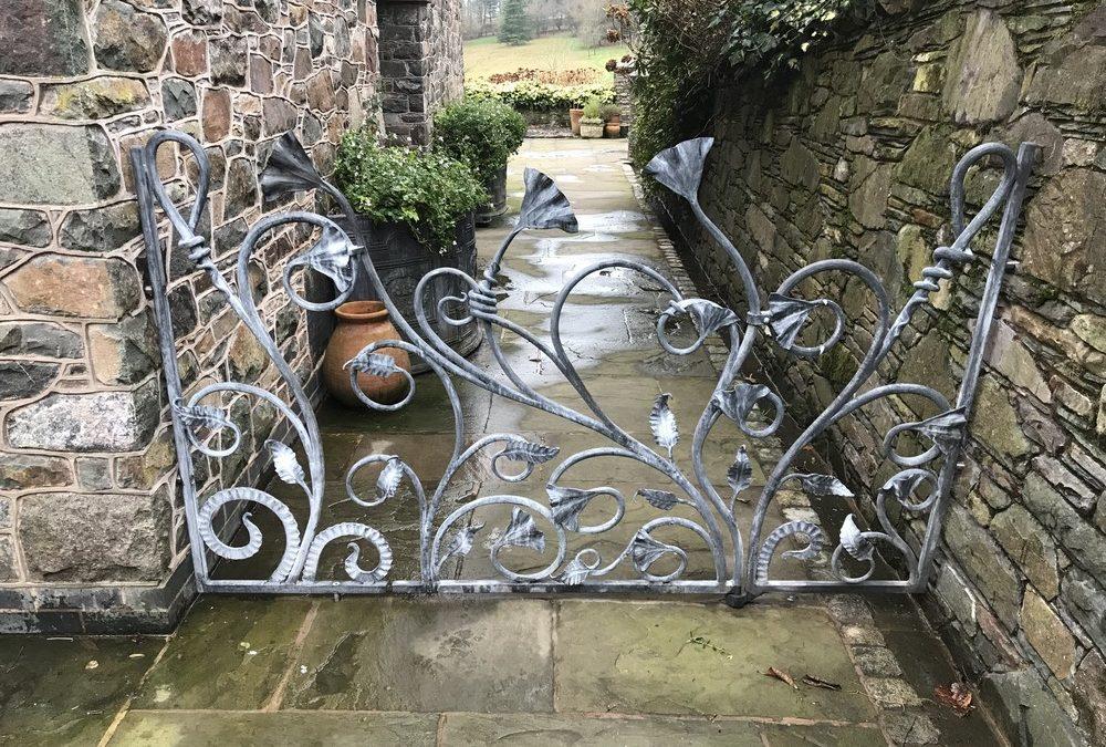 A Trio of Organic Garden Gates
