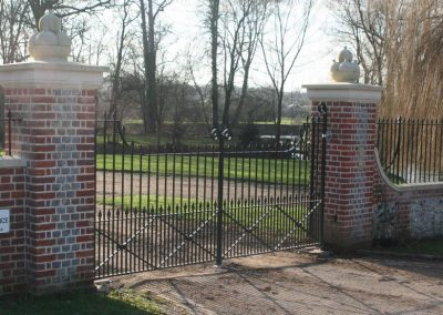 Mapledurham House Gates & Railings