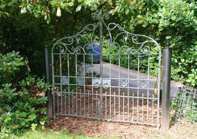 Decorative Wrought Iron Gate