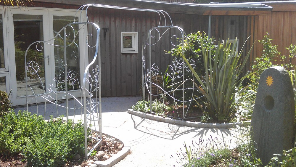 Garden Arch Wrought Iron