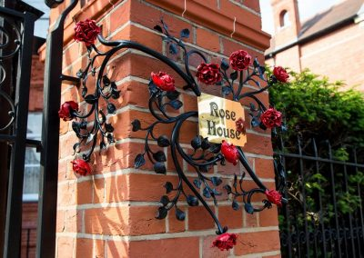 Rose House Sign