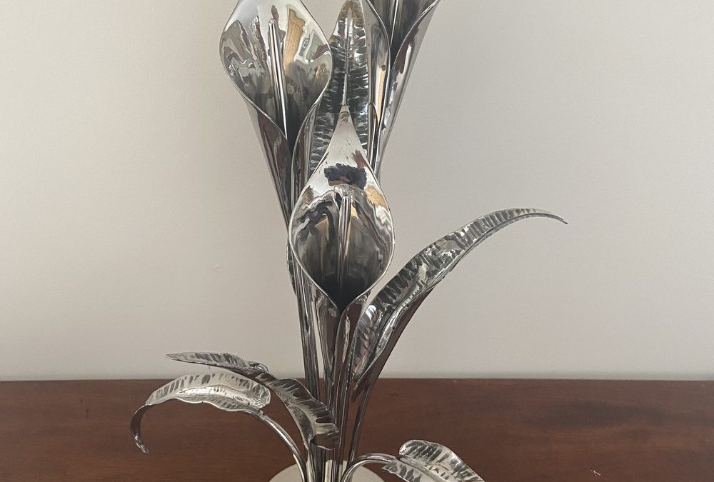 Stainless Steel Lily Flower Bouquet