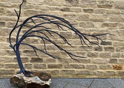 Windswept Tree Sculpture